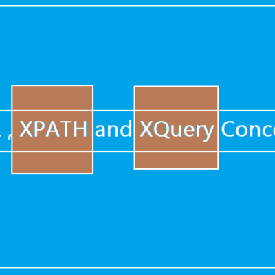 XML, XPATH and XQuery – Part 1