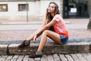 Beautiful Carefree Girl