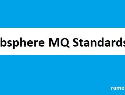 MQ Series Standards