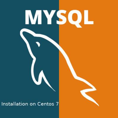 MySql DB server installation